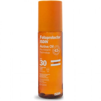isdin fotoprotector active oil 200 ml